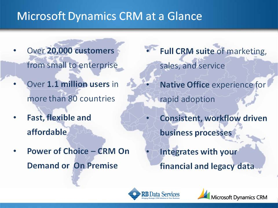 Microsoft CRM 4.0 At A Glance