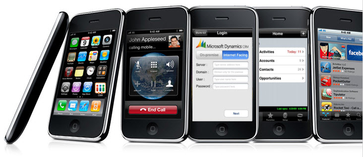 CRM iPhone Promotion